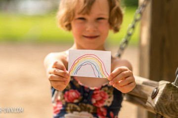 Find the Rainbow Game: An easy and fun way to learn colours while being active! See the directions on hello, Wonderful!
