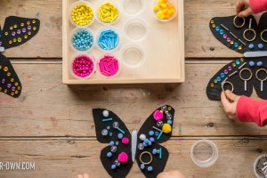 Design Butterfly Wings with Loose Parts! (Templates Included!)