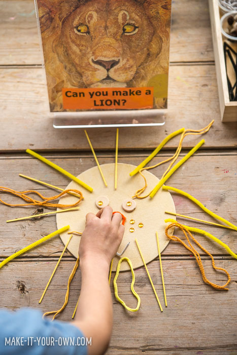 The Lion & the Mouse: Designing with Loose Parts