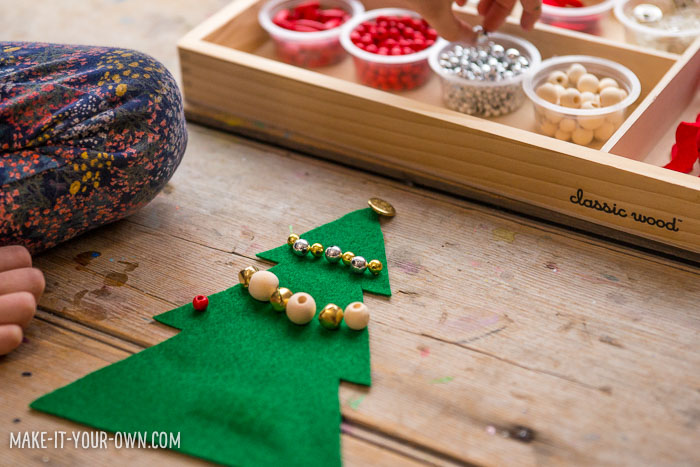 Make a Gingerbread House & Christmas Tree with Loose Parts