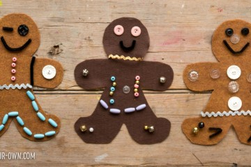 Design Your Own Gingerbread Person with Loose Parts!