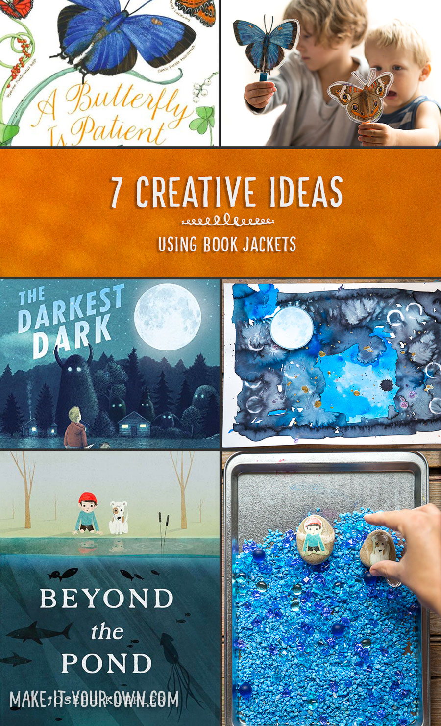7 Creative Ideas for Book Jackets