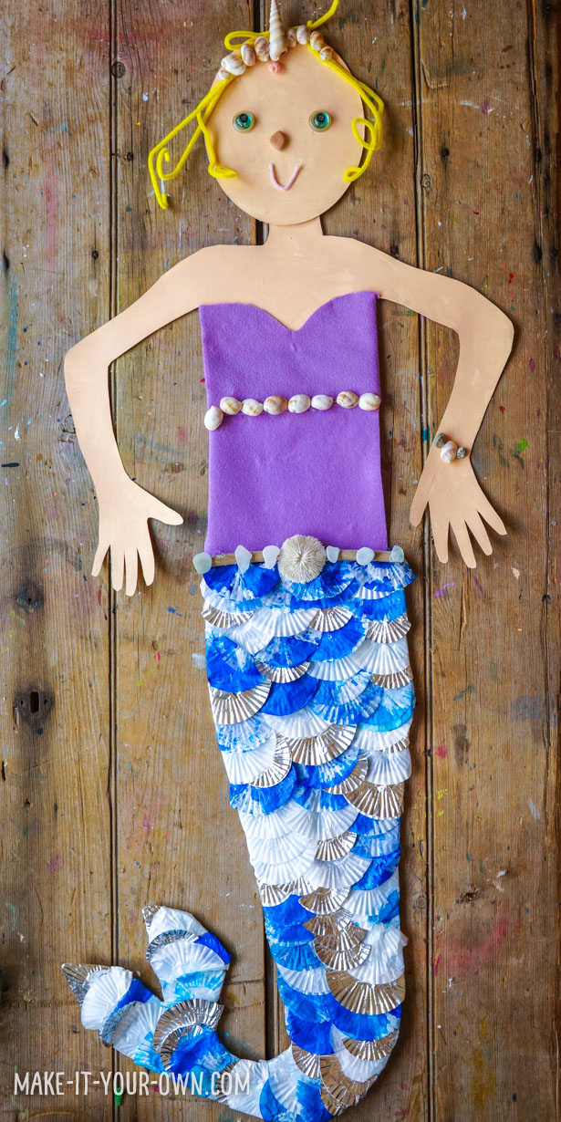 Make Yourself a Mermaid!  Extend Body Tracing to make yourself into a giant mermaid!