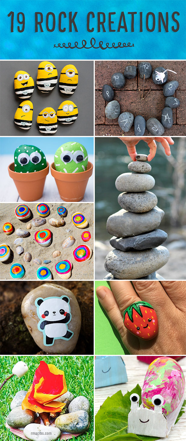 Create with rocks!