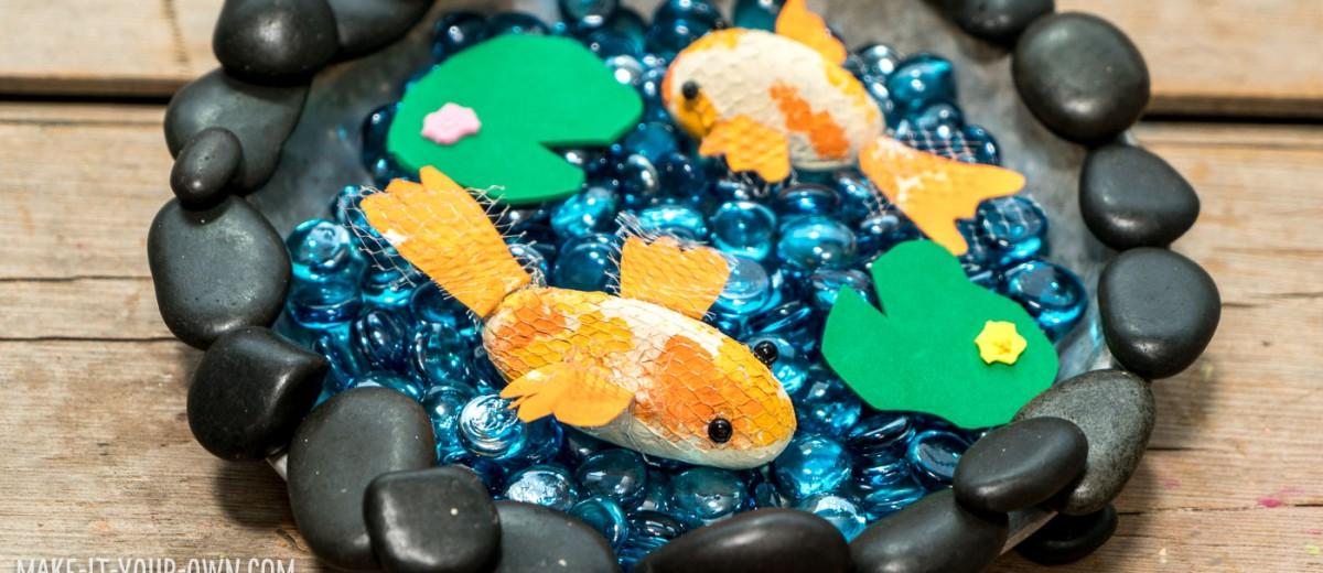 Rock Fish Pond: Use a special technique to create scales for your fish and create a pond for play!