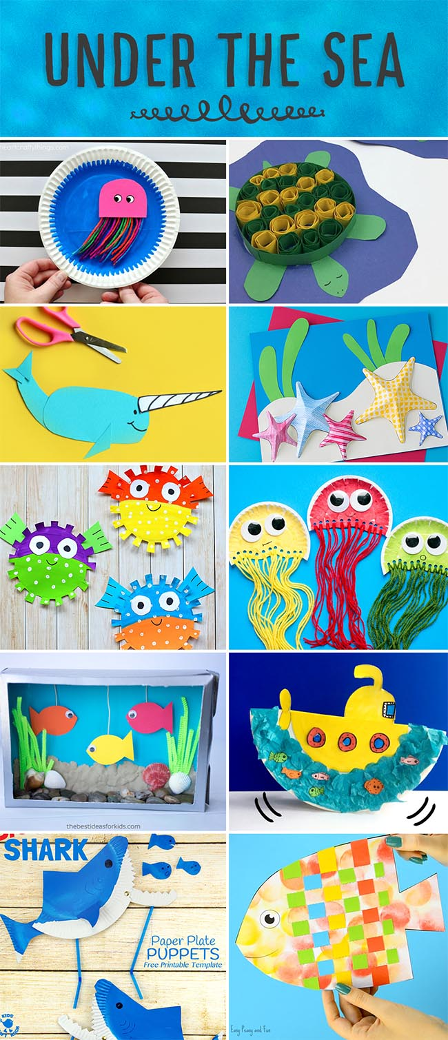 Dive Under the Sea with these Ideas!