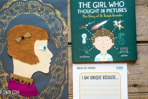 The Girl Who Thought in Pictures: The Story of Temple Grandin. Make a profile portrait of yourself and describe how you are unique!
