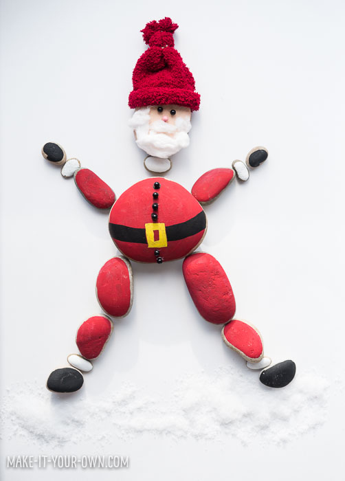 Holiday Painted Rocks: Create Santa, a Turkey and Menorah!