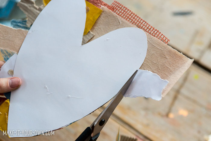 Show Us Your Heart:  Print out this heart template and decorate it!