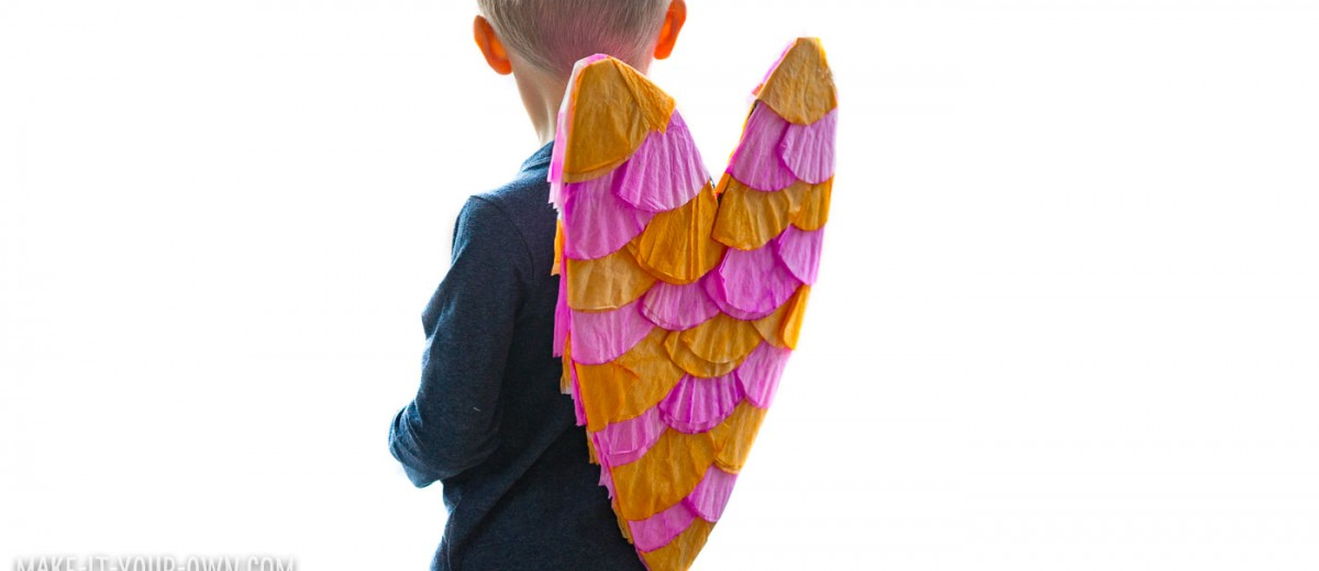 Heart Shaped Wings: Create these wings for a Valentine's Day project!