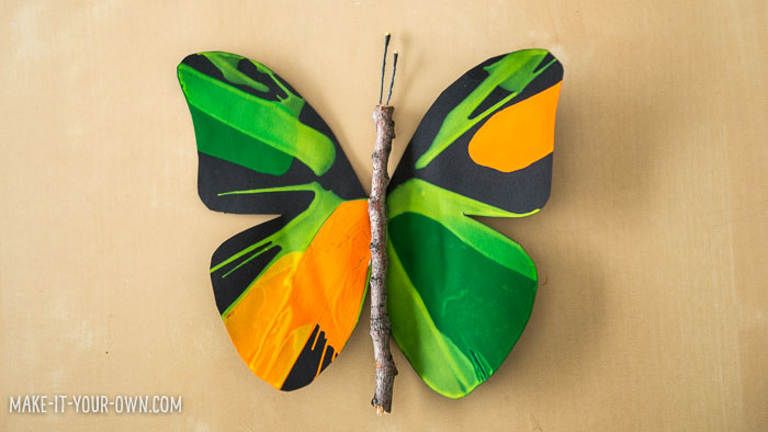 Spin Art Butterflies:  Use centrifugal force to create these beautiful butterflies!