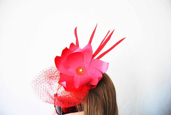 Upcycled Fascinator: Start Creative Studio