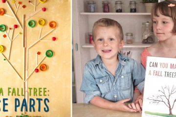 Design a Fall tree with loose parts!