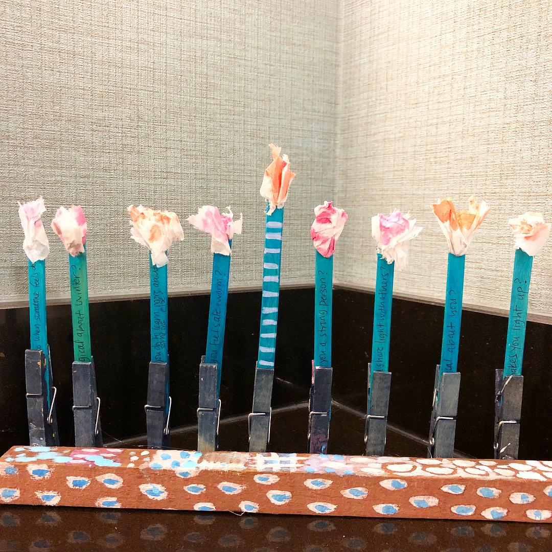 Hanukkah Menorah from Hatch Art Studios