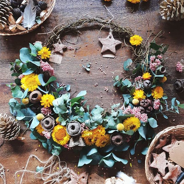 Gratitude Wreath from The Harmony Tree House