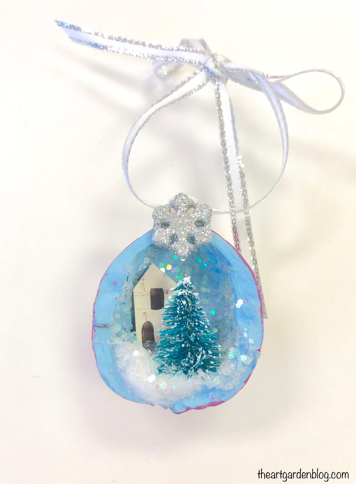 Walnut Ornament from The Art Garden