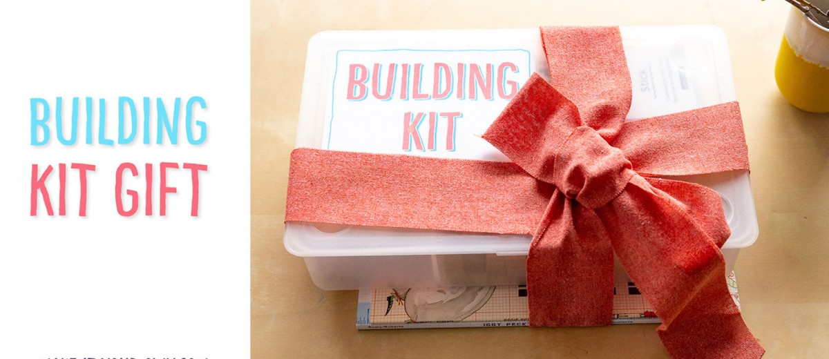 Put together this BUILDING KIT that encourages children develop their STEM (Science, Technology, Engineering and Math) skills!