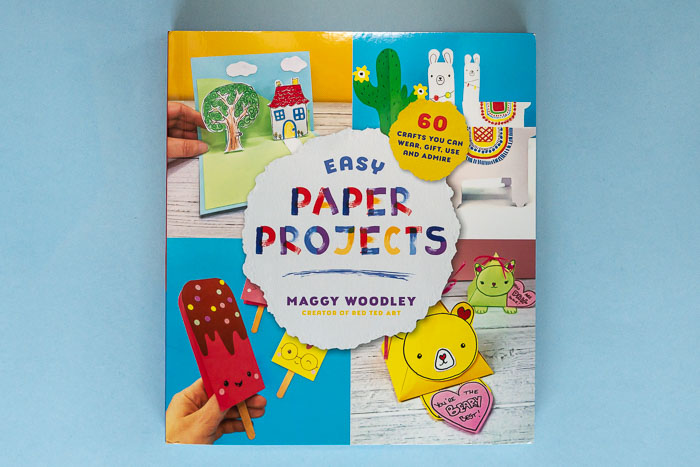 Easy Paper Projects: A kids craft book by Maggy Woodley