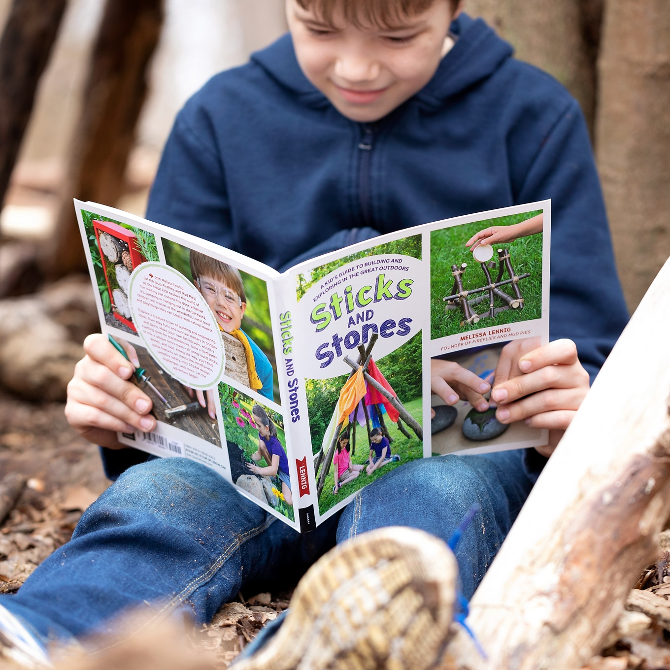 Sticks and Stones Book Fireflies and Mudpies
