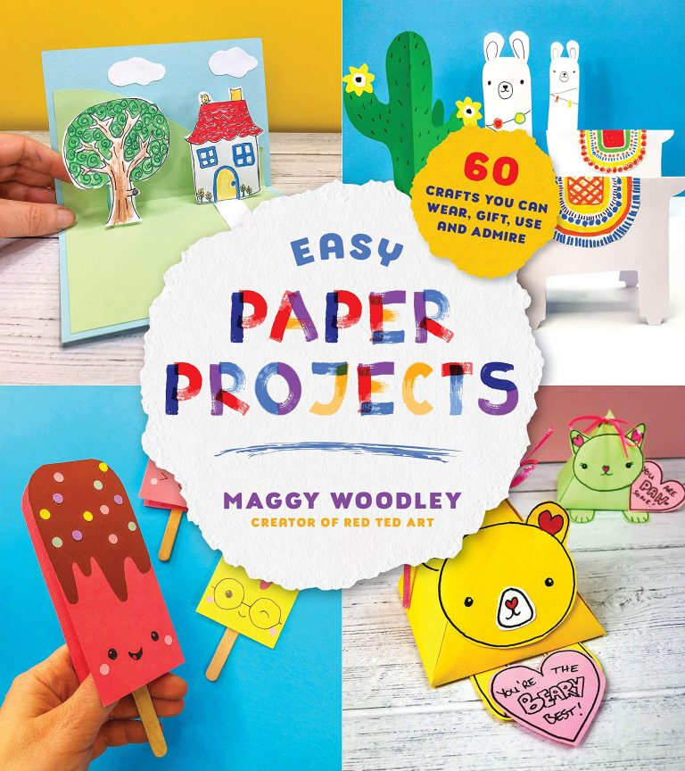 Red Ted Art Paper Project Book