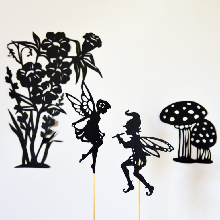 Adventures in a Box Fairy Shadow Puppet Set
