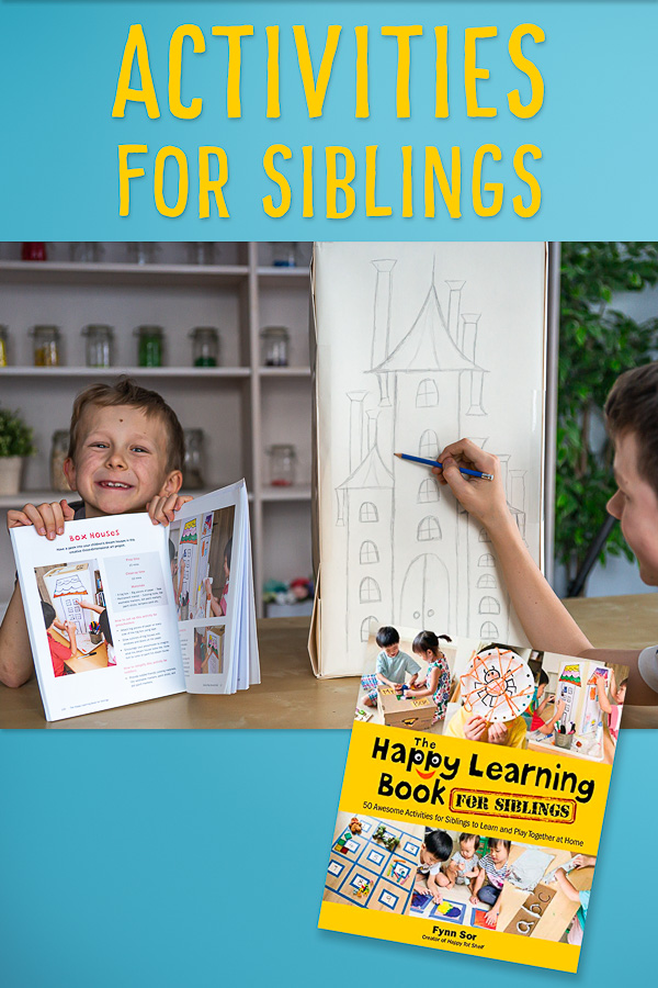 The Happy Learning Book for Siblings by Happy Tot Shelf
