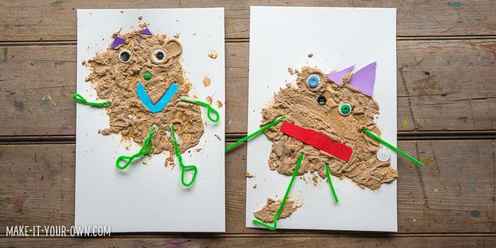 Mud Monsters: Painting