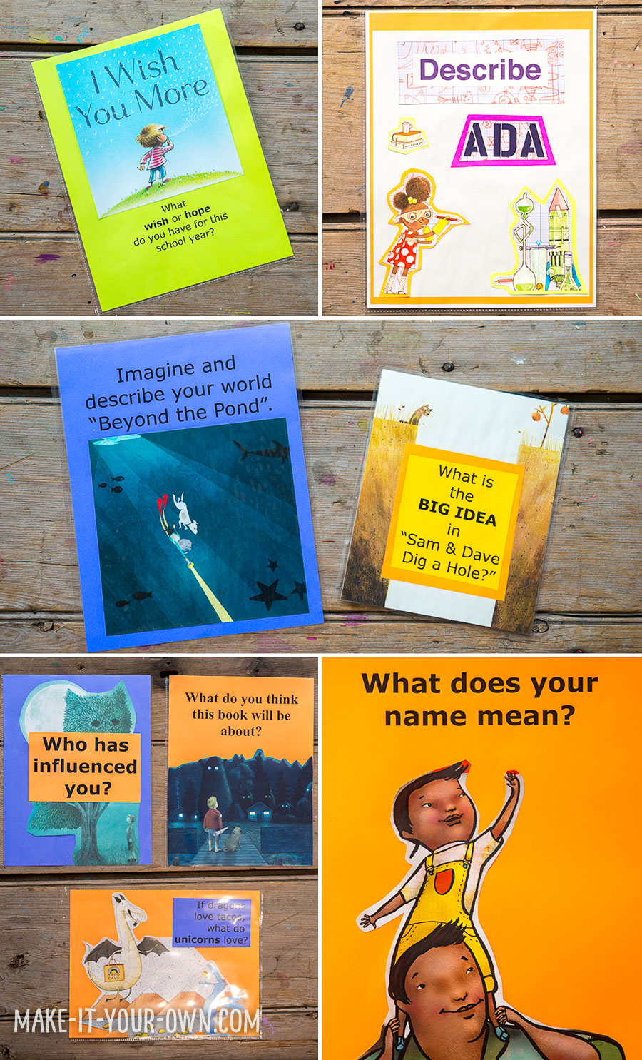 7 Ideas for Book Jackets/ Dust Covers